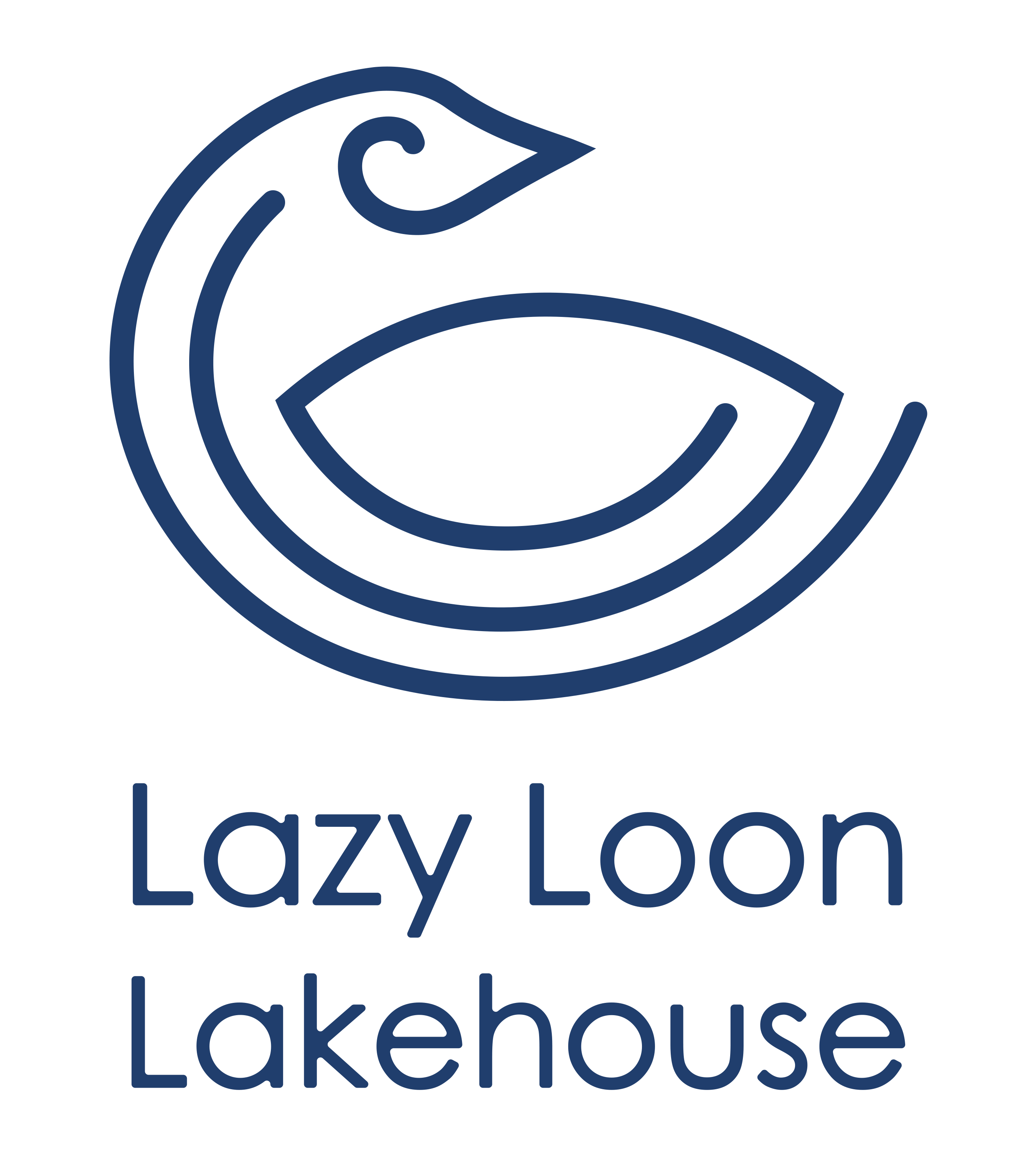 Lazy Loon Lakehouse logo