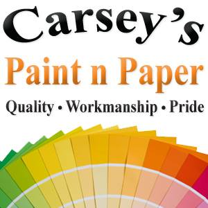 Carsey's Paint n Paper logo